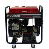 Standby Portable Gasoline Generator 10 KW with Wheel