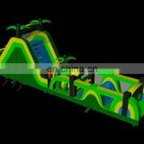 new tropical inflatable obstacle course