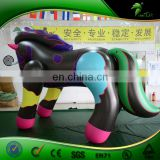 Inflatable Bouncing Horse Toy Custom Color UV Printing Inflatables Cartoon Animal Balloon