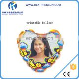 Magic photo printing balloons