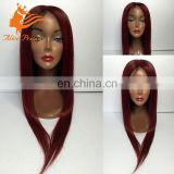 New Color Silky Straight Black Women Wig From Chinese Hair Store Remy Indian Noble Bug Full Lace/Lace Front Wig