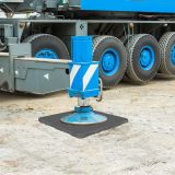 Crane Truck foot support rigid outrigger pad HDPE sheet