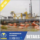 "350m3/h dredging capacity cutter suction dredger 16"" / 18"" diameter"