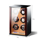Vertical Design Watch winder  6 Slots Watch Winder  Wrist Watch Winder Box  watch winder suppliers