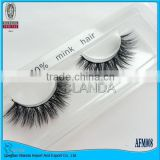 2015 Hottest Selling100% Mink Fur False Eyelashes for sale factory price