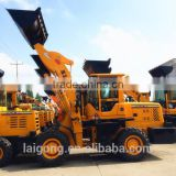 quality assured 2.5t compact articulated front wheel loader