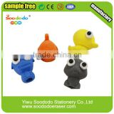 Shaped Blister Card custom printed erasers