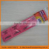2014 hot double pack series admisson ticket block ticket official sale ticket rolls meeting ticket
