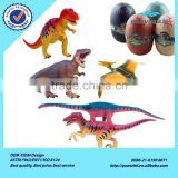 Fancy assembly colorful plastic dinosaur puzzle in jurassic egg for children puzzle games