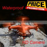 2.4G waterproof drone F51 mini tudou rc aircraft quadcopter with camera drone under water