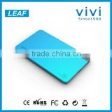 New arrival polymer lithium battery power bank 5000mah 5V 2.1A for pad mini and tablet pc also samsung galaxy note