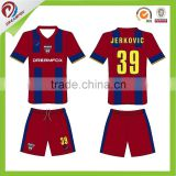 top grade new season indoor soccer set club soccer shirt kit, soccer kits for kids