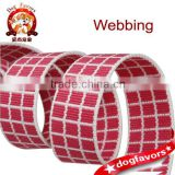 Manufacturer Jacquard Antiwear Webbing, New Arrival Woven Polyester Jacquard Webbing