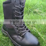 factory supply non slip safety shoes first layer skin anti-piercing Steel head boots oem order