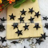 Best price Black Star Studs, Gold Pearl Stud Metal Claw Beads for garment accessories