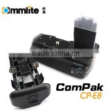 Commlite ComPak E8 digital camera battery grip for Canon 550D/600D/650D Rebel T2i/T3i DSLR Camera