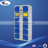 wholesale price supermarket & department store electronic lock 12 door electronic locker system, barcode