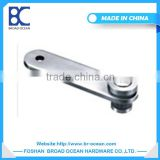 304/316 stainless steel bracket for glass shelf