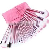 Hot Sale 22pcs Superior Professional Soft Cosmetic Make up Brush Set + Pouch Bag Case Makeup Brush