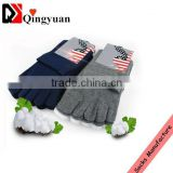 wholesale fashion men bisiness sock men bamboo charcoal five toe socks
