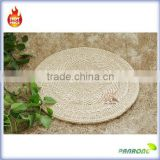 Wholesale straw round placemat custom table mat placemat straw woven cushion