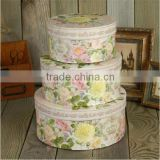 Wholesale Cheap Custom Made Round Paper Gift Boxes