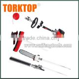 tools 4 in1 pole chainsaw or brush cutter and hot sale long reach chainsaw with 43cc displacement                                                                         Quality Choice