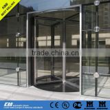 All glass automatic revolving door, CE UL ISO9001 certificate