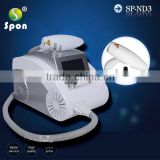 Q Switched Nd Yag Laser Brown Age Spots Removal Tattoo & Pigmentation Removal Laser Machine Hori Naevus Removal