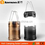 2016 USB Rechargeable Led Camping Solar Lantern With Mobile Phone Charger                                                                         Quality Choice