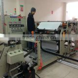 Hot melt adhesive velcro tape coating machine for back glued Velcro