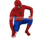 China Supplier Halloween Spiderman Costume For Adult