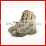 MILITARY INFANTRY camo tactical assault combat boot army police walking hunting outdoor boots shoes for CS war game CL29-0042