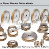 Diamond glass grinding wheel/glass polishing wheel
