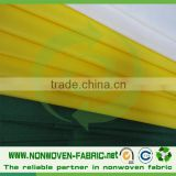 PP Nonwoven White/Printed Table Cloth/pp spunbonded nonwoven cheap table cloth/non woven technology Wedding table cloth