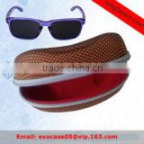 2016 New design manufacture custom EVA eyeglass case double EVA glasses case