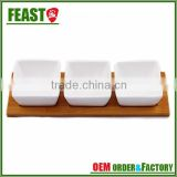 2015 Europe style HOT wholesale ceramic set with bamboo coaster                                                                         Quality Choice