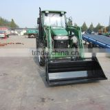 chinese lower price tractor with fron loader back hoe                                                                         Quality Choice