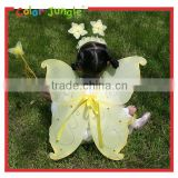 kids costume butterfly Wings Wand Set for Girls Birthday Gifts And kids party dress