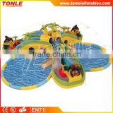 Gorilla Island Giant Kids Inflatable Water Park For Sale/Inflatable Floating Water Park/Inflatble Amusement Park