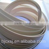 pvc wood grain edge banding tap/ furniture edge band/ plastic products/ furniture fittings