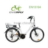 6 speed middle motor / electric1:1 pedal assisted bike XY-EB006