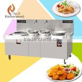 20KW multiply two double wok commercial electric induction cooker cooktop with stainless steel LCD display power DD24