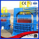 hot selling automatic used clothing baling machine