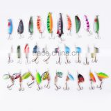 Wholesale Lot 30pcs Fishing Lures Spinner Baits Crankbait Assorted New metal fishing lures SV009974