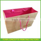 High quality branded retail shopping paper bag