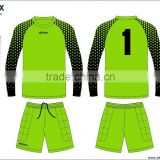 high quality custom goalkeeper shirt, blank goalkeeper jersey, goalkeeper football jersey