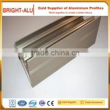 Aluminum framing extrusion profile for modular cleanroom system