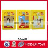 Have Nestle and TUV audit report eco-friendly PS sliding puzzle games from shantou toys