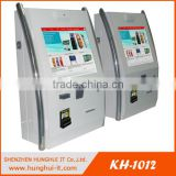 Wall Mounted Touch Screen Payment Kiosk With Cash / Coin Deposits , OEM ATM Machine manufacturer